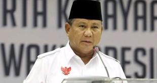 Ketua Umum Partai Gerindra, Prabowo Subianto. (Ist)
