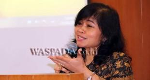 Direktur Utama PTPN IV, Siwi Peni. (WOL Photo)