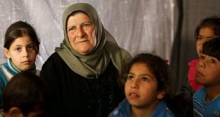 Indonesia meminta agar keselamatan wanita dan anak-anak terjaga dari serangan koalisi AS (Foto: Omar Sanadiki/Reuters)