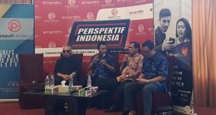 """Diskusi bertajuk """"Berburu Cawapres dan Sidang MK"""" di Menteng, Jakarta Pusat, Sabtu (5/5/2018). (Foto: Fahreza Rizky/Okezone)"""