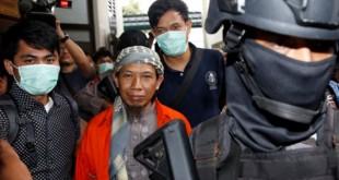 Terdakwa Teror Bom Thamrin, Aman Abdurrahman (foto: Reuters)