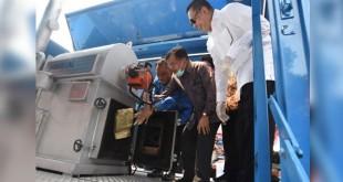 Pemusnahan narkoba di Silang Monas, Jakarta (Foto: ANT)