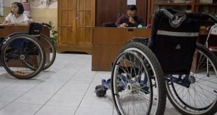 Ilustrasi Penyandang Disabilitas Mengikuti SBMPTN (foto: Antara)