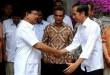 Jokowi dan Prabowo dalam sebuah pertemuan. (Foto: Okezone)