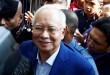 Mantan PM Malaysia, Najib Razak menjalani pemeriksaan di markas komisi anti-korupsi Malaysia (MACC), 22 Mei 2018. (Foto: Reuters)
