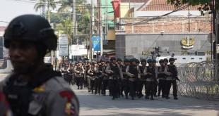 Polisi perketat penjagaan di Mako Brimob imbas kerusuhan. Foto Antara