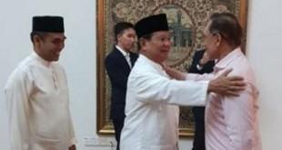 Anwar Ibrahim bertemu Prabowo Subianto. Foto/Facebook