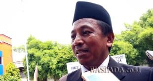Kepala Perum Bulog Sumut, Benhur Ngkaimi. (WOL Photo/Eko kurniawan)
