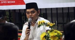 Wakil Ketua DPRD Medan, Ihwan Ritonga. (WOL Photo)