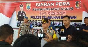 Kapolres Pelabuhan Belawan AKBP Ikhwan Lubis. (WOL Photo/Gacok)