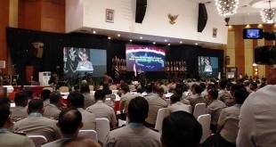 Kapolri kumpulkan seluruh Kapolda dan Kapolres se-Indonesia (Foto: Badiyanto)