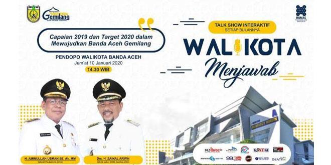 Live Streaming Wali Kota Menjawab Target 2020 Banda Aceh Gemilang Waspada Online Pusat Berita Dan Informasi Medan Sumut Aceh
