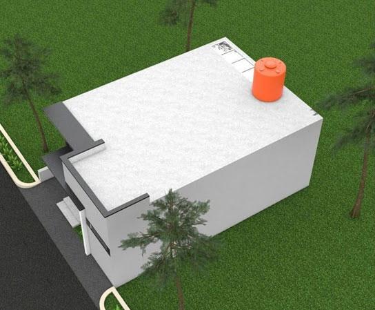 Desain Dan Denah Rumah 6 X 9 M Dengan Atap Dak Cor Beton Solusi Untuk Menambah Rumah 2 Lantai Waspada Online Pusat Berita Dan Informasi Medan Sumut Aceh