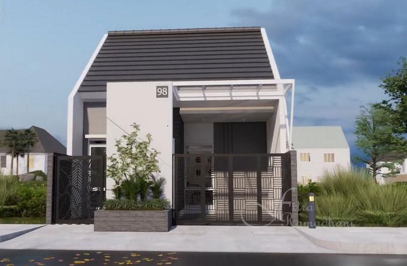 desain rumah 6 x 10