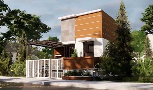 desain rumah kekinian